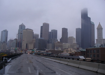 Seattle's Alaskan Way Viaduct October 2011. Photo by C.Cancler
